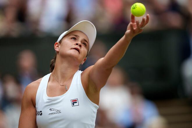 Второй финал Grand Slam – вторая победа. Барти стала чемпионкой Уимблдона