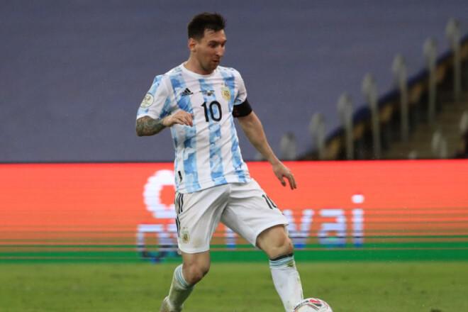 Лионель МЕССИ: «Я должен был выиграть трофей со сборной Аргентины»