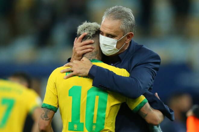 Тіте незадоволений. Тренер Бразилії розкритикував Копа Америка і Аргентину