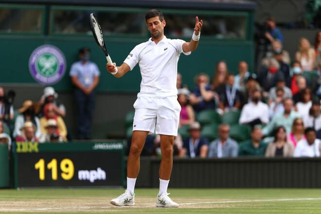 Джокович выиграл Уимблдон и догнал Федерера и Надаля по титулам Grand Slam