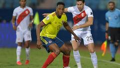 Колумбія - Перу. Матч за 3-тє місце Кубка Америки. Дивитися онлайн. LIVE