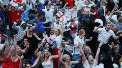 УЕФА оштрафовала Ассоциацию футбола Англии за поведение фанатов