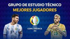 Награду лучшего игрока Копа Америка-2021 разделили между двумя игроками
