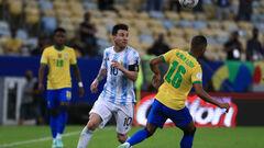 Аргентина – Бразилия – 1:0. Первый трофей Месси! Видео гола и обзор матча