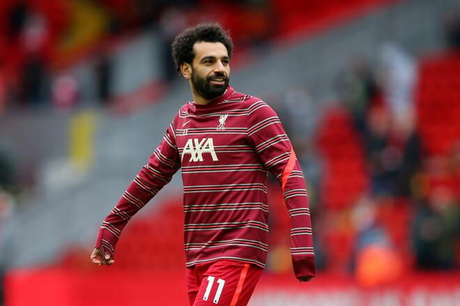 Ливерпуль не спешит продлевать контракт с Салахом