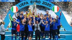 ВИДЕО. Италия празднует титул! Церемония награждения Скуадры Адзурры