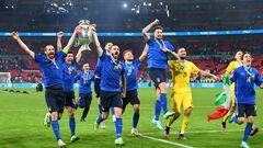 ФОТО. Как Италия стала чемпионом Европы. Лучшие моменты финала
