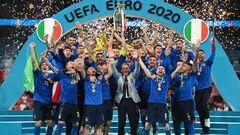 Кто остановит Италию? Команда Манчини находится на невероятной серии
