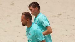 Українці стартують на клубному Євро з пляжного футболу з трьох перемог