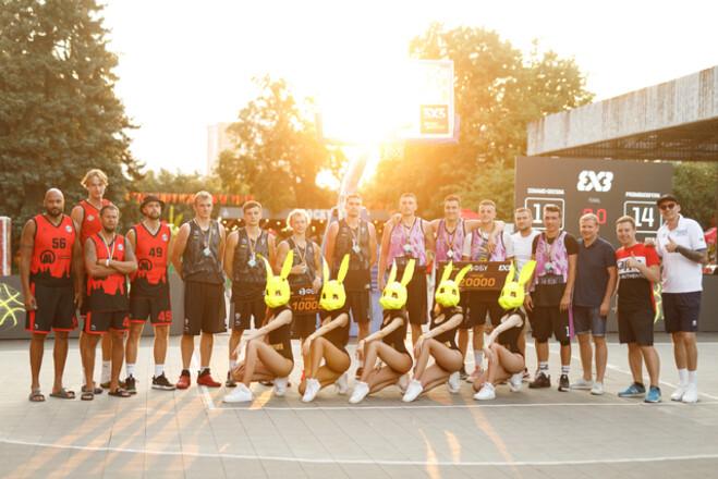 ФБУ провела при поддержке Parimatch баскетбольный марафон на Atlas Weekend