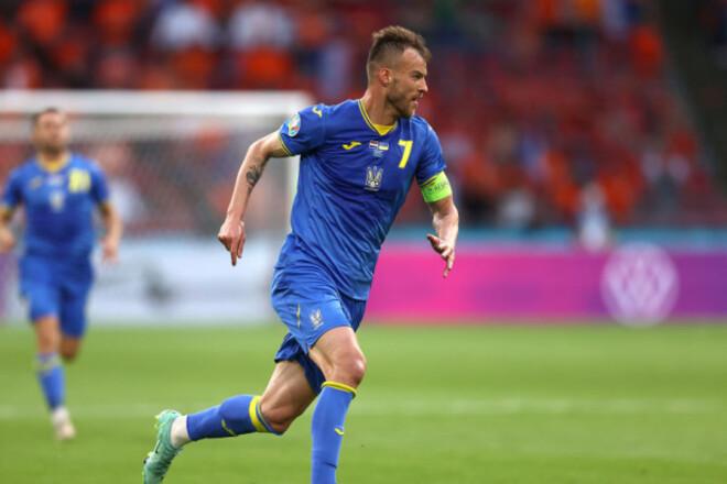 ВИДЕО. Гол Ярмоленко - в топ-10 лучших на Евро-2020