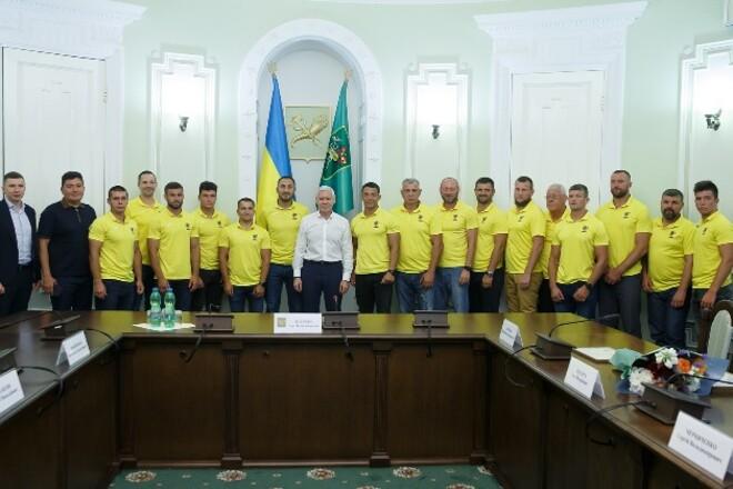 Игорь Терехов поздравил с чемпионством регбистов Ярославского