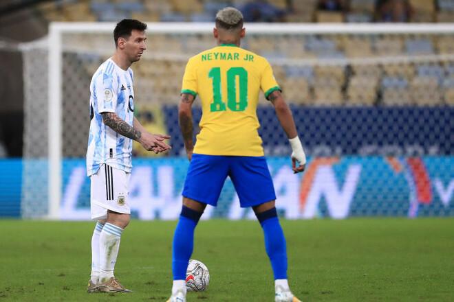 Месси и Неймар вошли в символическую сборную Кубка Америки