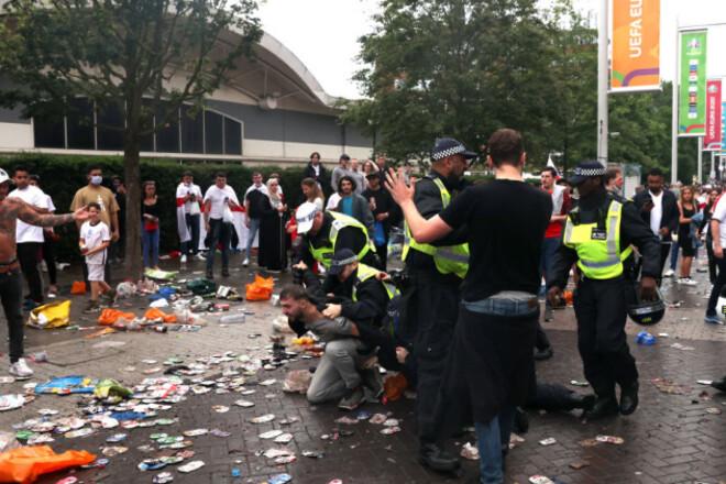 «Попал в давку». Отец Магуайра пострадал во время финала Евро-2020