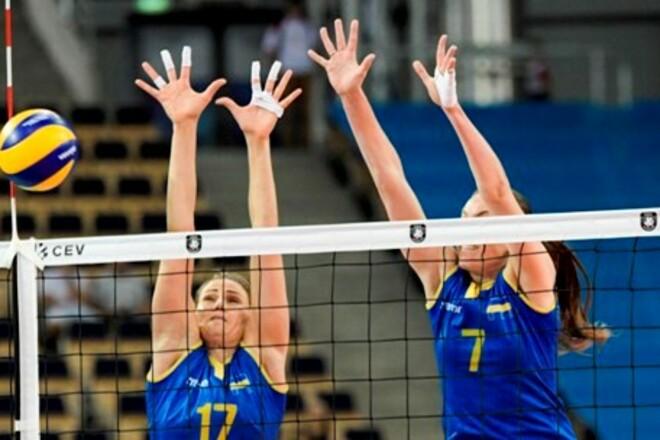 Женская сборная Украины готовится к чемпионату Европы в Болгарии