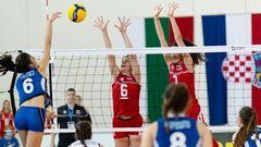 На женском Евро U-16 по волейболу сыграно три тура