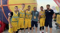 Сборная Украины сыграет с Россией на Евробаскете 3х3