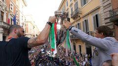 Збірну Італії можуть покарати за проведення чемпіонського параду