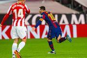Барселона поквиталась с Атлетиком за поражение в Суперкубке