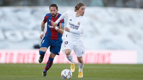 Реал — Леванте — 1:2. Видео голов и обзор матча