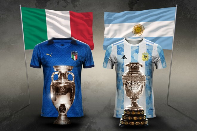 Матч континентальных чемпионов. Аргентина и Италия могут разыграть трофей