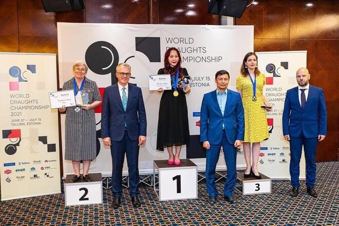 Украинка Виктория Мотричко выиграла бронзу на чемпионате мира по шашкам