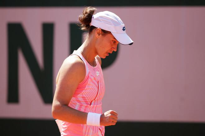 Калинина впервые в карьере вышла в полуфинал турнира WTA