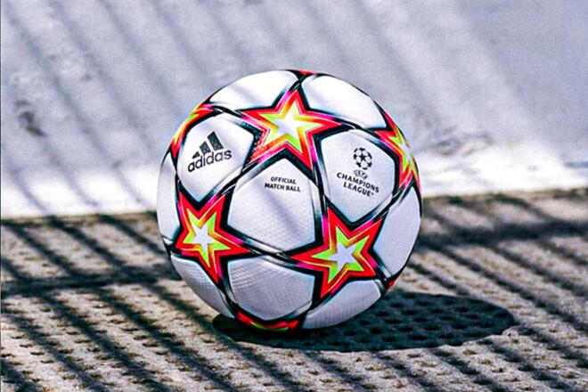 ФОТО. Adidas представил новый мяч для Лиги чемпионов