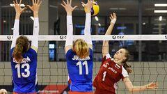 Завершился групповой этап женского Евро U-16 по волейболу