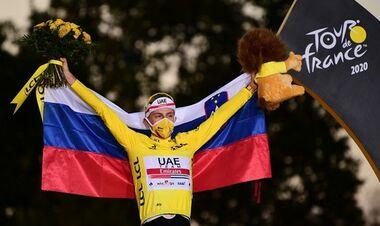 Тадей Погачар – победитель Тур де Франс-2021