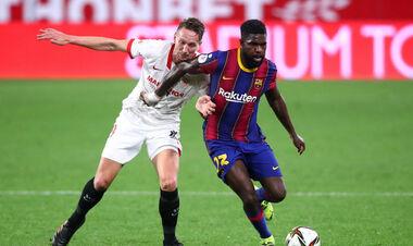 Ліон має намір орендувати захисника Барселони