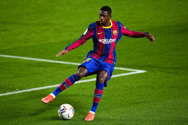 Барселона заставляет Дембеле продлить контракт