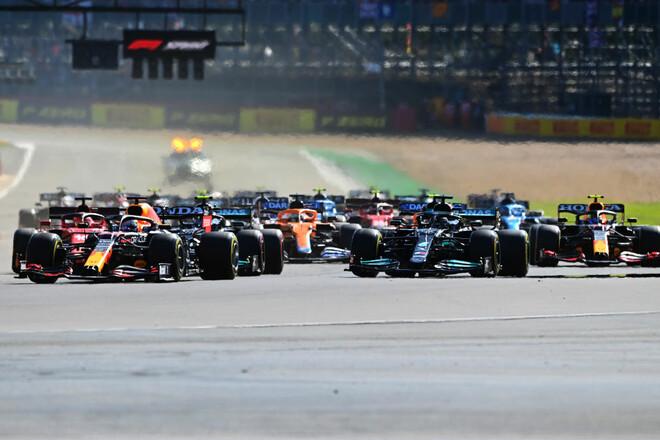 Формула-1. Гран-при Великобритании. Авария Макса! Текстовая трансляция