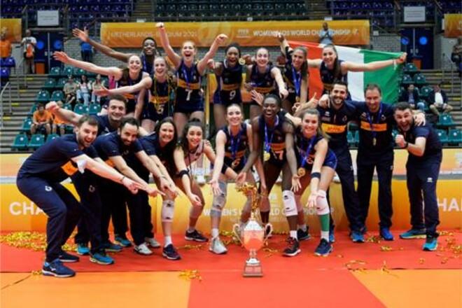 Женский чемпионат мира U-20 выиграла сборная Италии