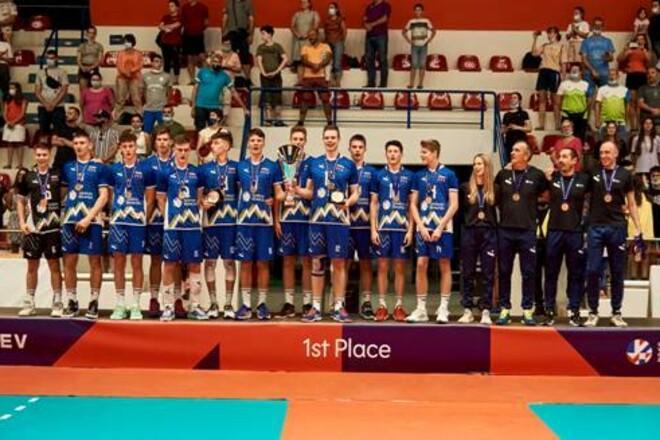Словения в финале юношеского Евро U-17 выиграла у России