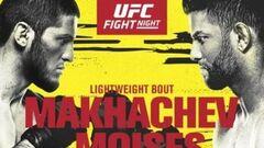 Де дивитися онлайн UFC: Іслам Махачев – Тіагу Мойзес