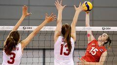 Названы финалисты волейбольного Евро U-16 среди женщин