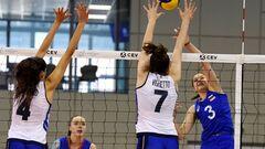 В финале Евро U-16 волейболистки России победили Италию