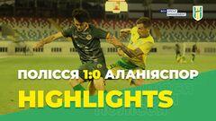 Полесье – Аланьяспор – 1:0. Видео гола и обзор матча