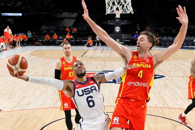 Сборная США разобралась с Испанией в контрольном матче