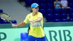 Молчанов зачехлил ракетку после первого круга на турнире ATP в Гштааде