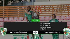 Лига конференций. Клуб из Литвы дома пропустил 5 мячей от команды из Уэльса