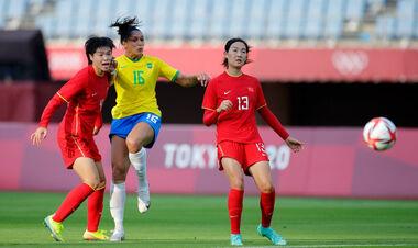 Первые результаты: 5:0 и 10:3. На ОИ стартовал женский футбольный турнир