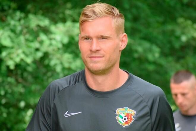Защитник сборной Эстонии не поможет Ворскле в первом матче Лиги конференций