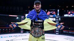 Украинский чемпион Амосов в топ-5 рейтинга pound for pound Bellator