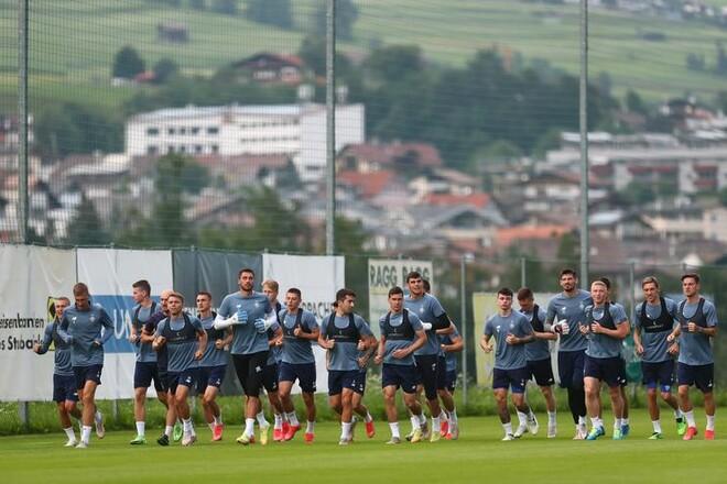 ВИДЕО. Как Динамо живет и тренируется в Австрии
