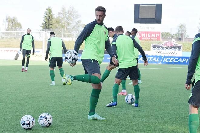 Известен стартовый состав Ворсклы на первый в сезоне матч еврокубков