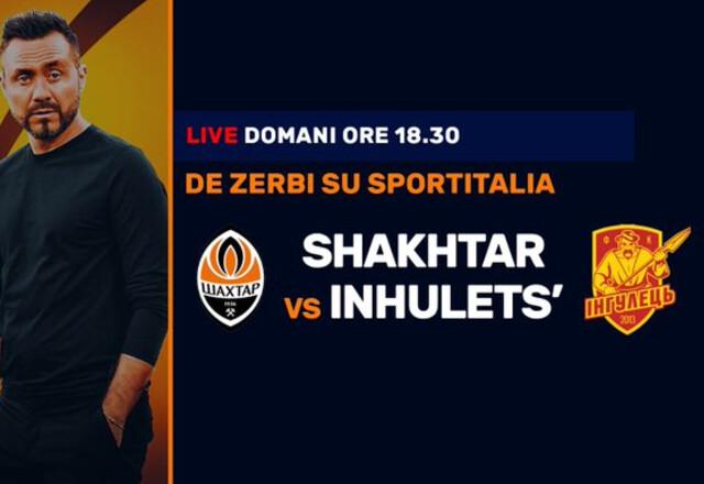 Итальянский телеканал будет транслировать матчи Шахтера