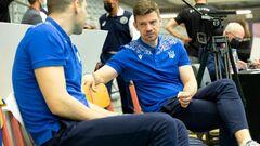 Сборная Украины начинает подготовку к чемпионату Европы