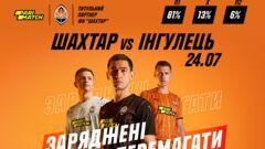 Оновлений Шахтар розпочинає сезон матчем проти Інгульця